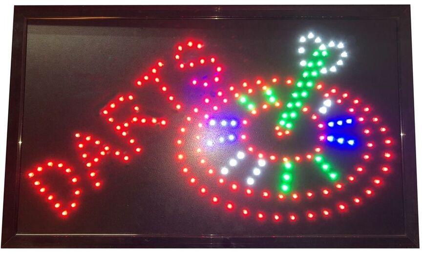 Bull's LED Dartschild