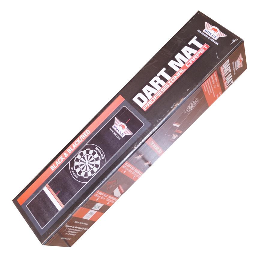 Bull's Dartmatte Dartteppich Black and Black 300 x 65