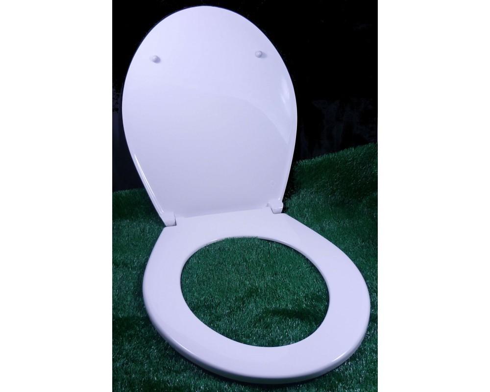 WC-Sitz weiss: der Unzerbrechliche