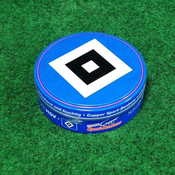 Hamburger SV Cupper Sportbonbons Cassis & Eisbonbons