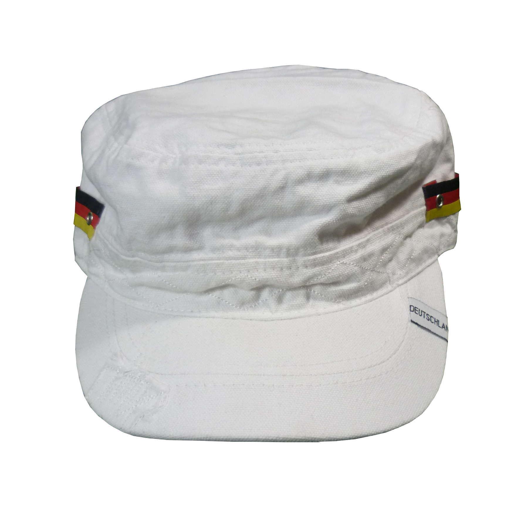 Deutschland Army Cap weiss