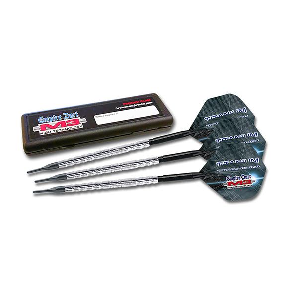 Darts-Set ED M3 TIT-5 19g, Titanium Soft