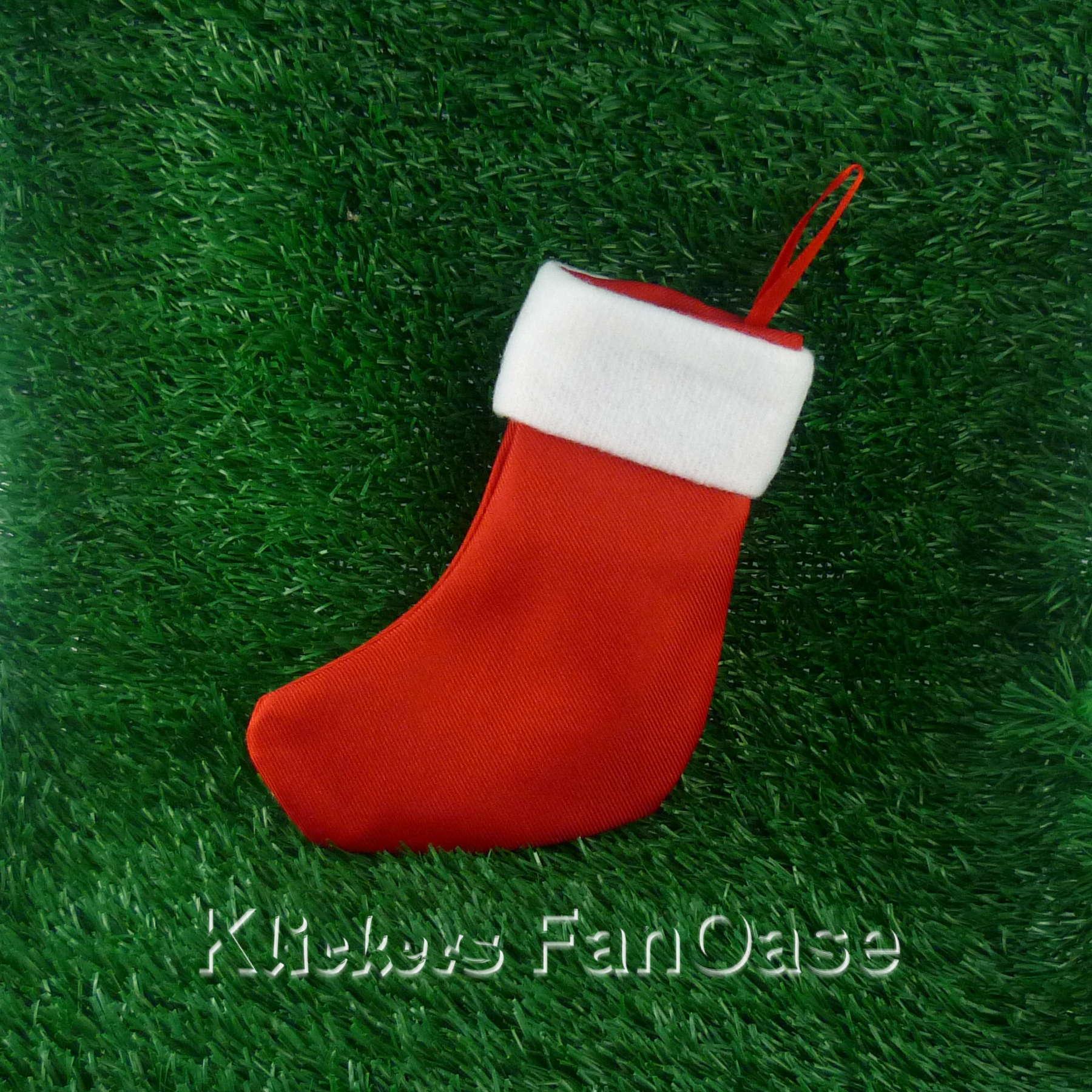 Mini Nikolausstiefel, Besteckstiefel