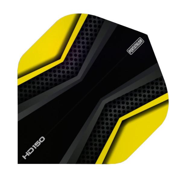 Pentathlon Flights HD150 X schwarz-gelb Standard