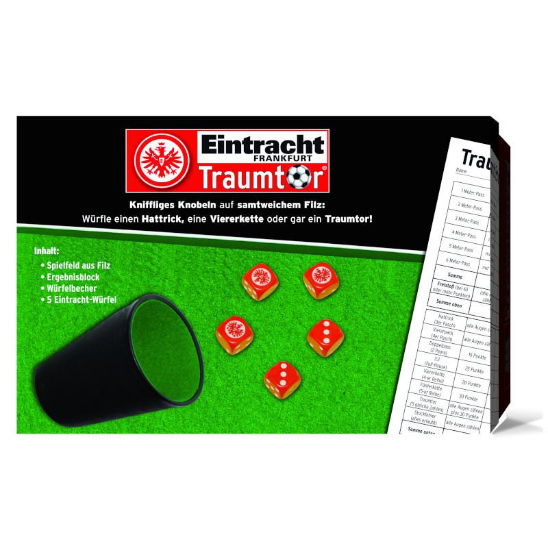 Eintracht Frankfurt Würfelset Traumtor