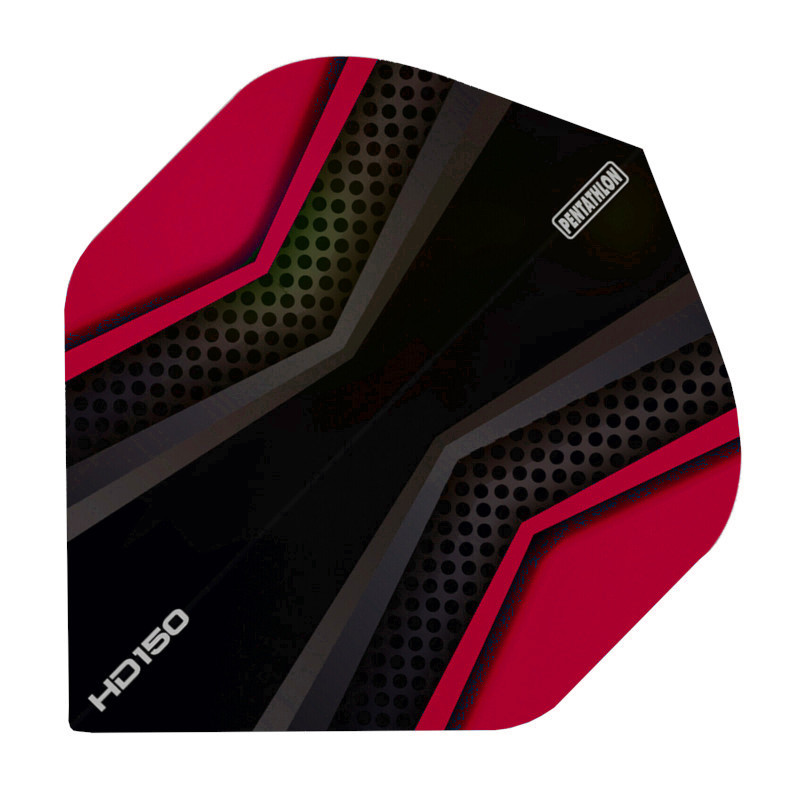 Pentathlon Flights HD150 X schwarz-rot Standard