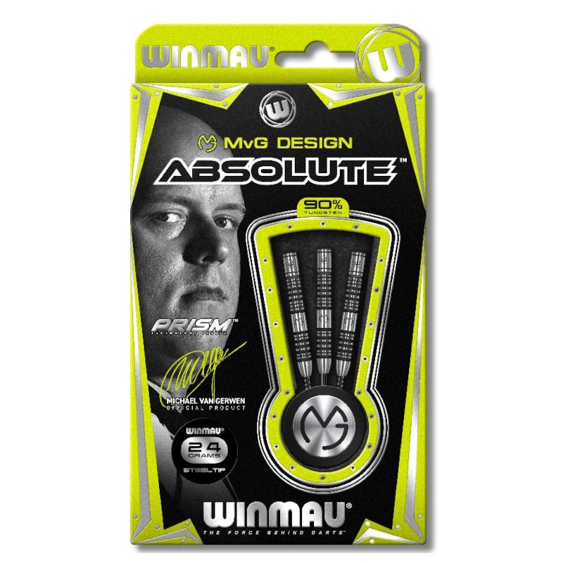 Winmau Michael van Gerwen Absolute MvG Steeldarts-Set 24g