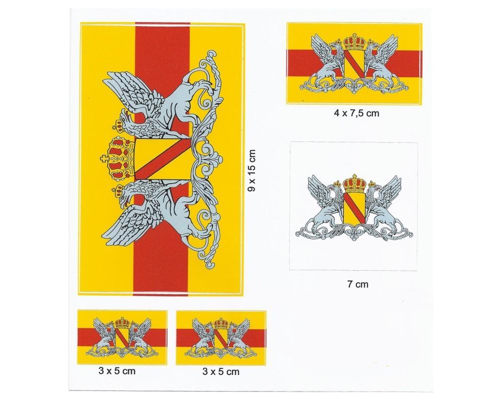 Baden Aufkleberkarte Grossherzogtum