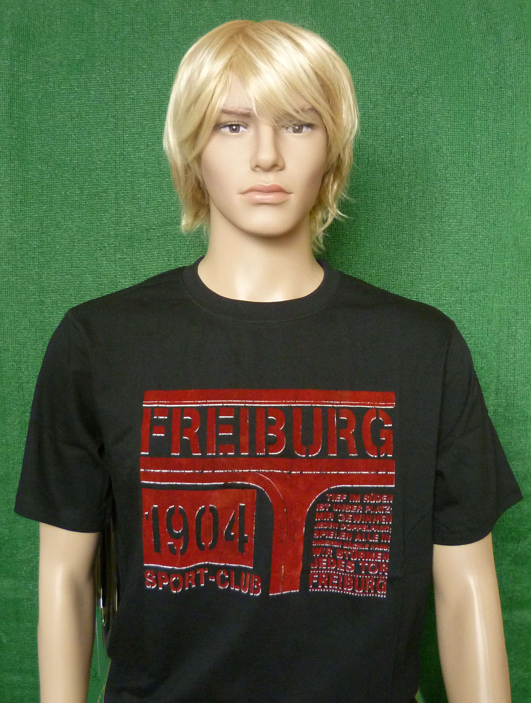 SC Freiburg T-Shirt Flock