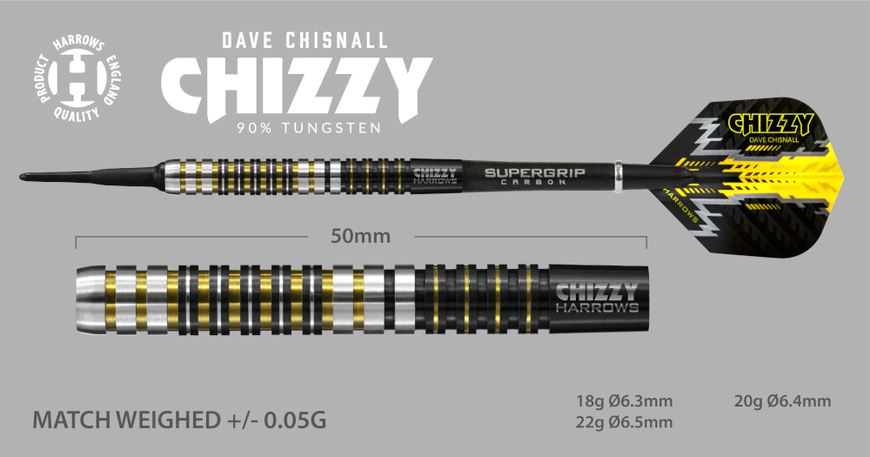 Harrows Chizzy 90% 18g