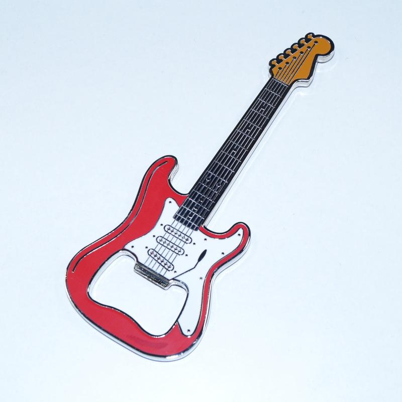 Flaschenöffner Gitarre Classic Rot