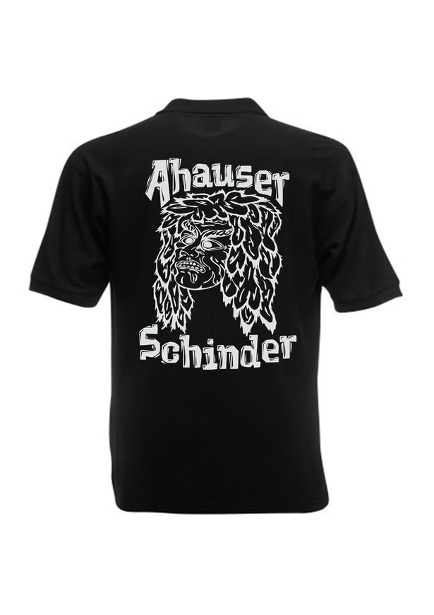 Ahauser Moschobst Shirt bedruckt (großes + kleines Motiv) Herren/Unisex