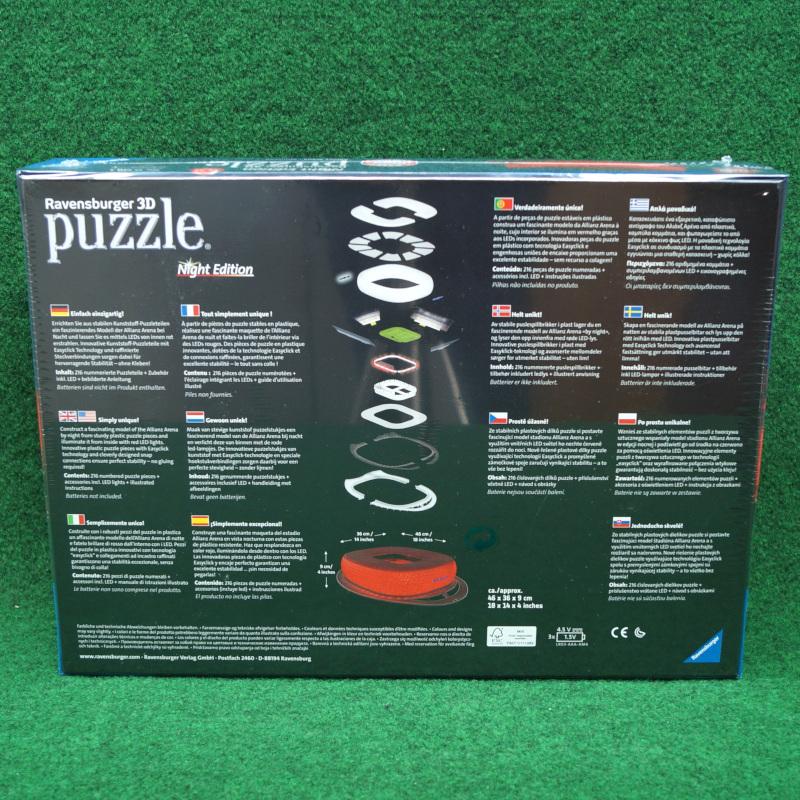 FC Bayern München 3D Puzzle Allianz Arena Night Edition LED