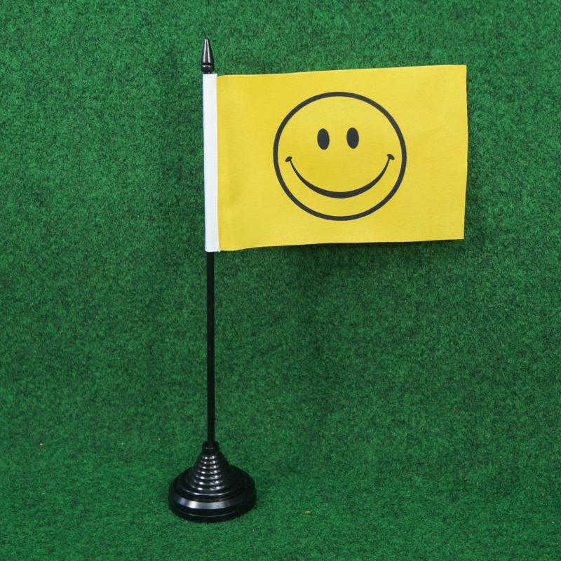 Tischfahne Motiv Smiley