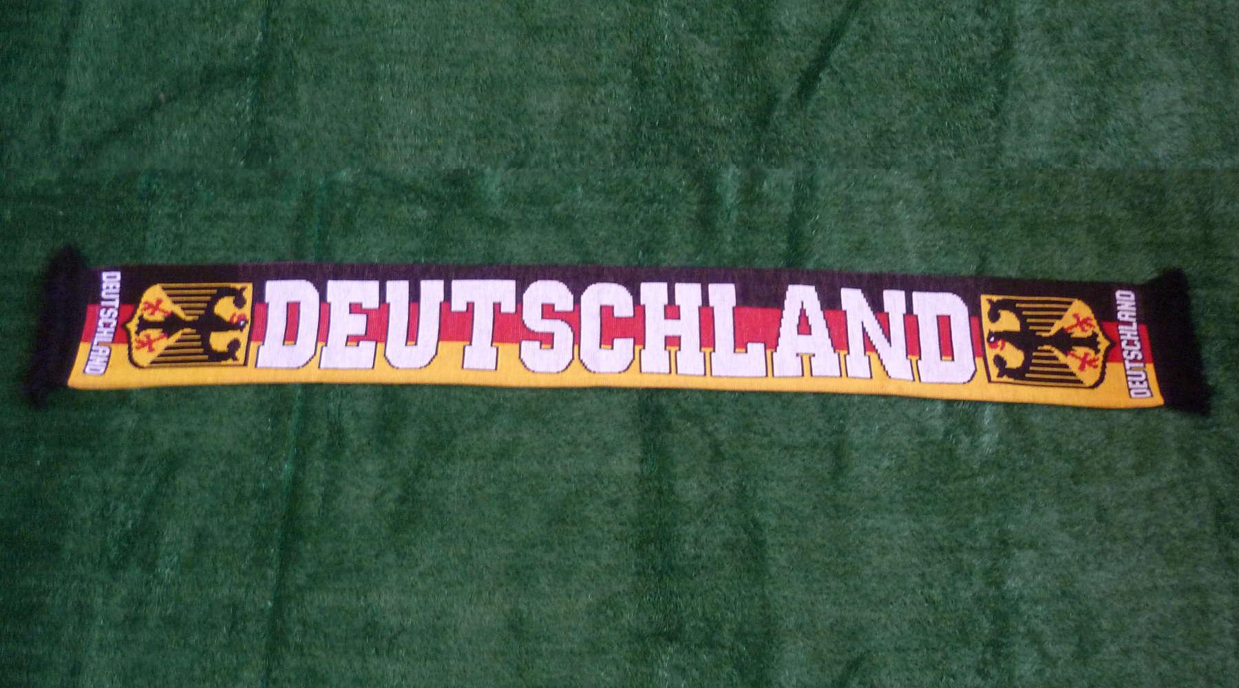 Deutschland Fan-Schal gestreift