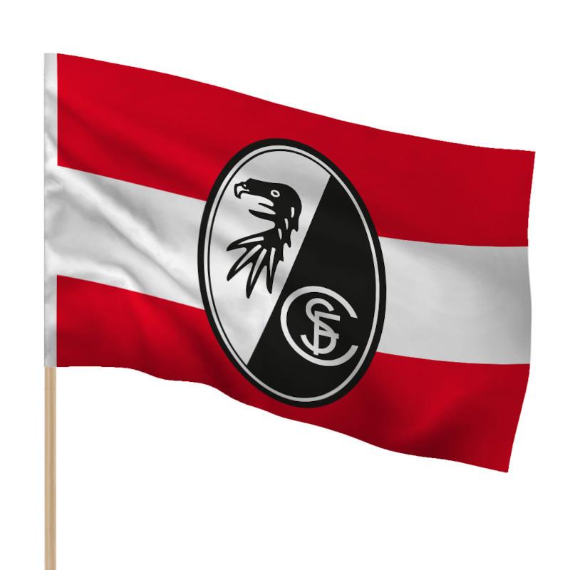 SC Freiburg Fahne Wappen 90 x 60cm