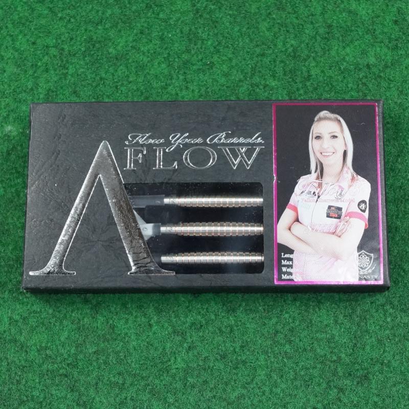 Dynasty Fallon Sherrock A-Flow silber Steeldarts Set 24g