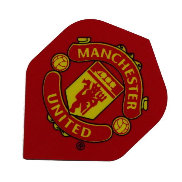 Manchester United Dartflights Logo rot