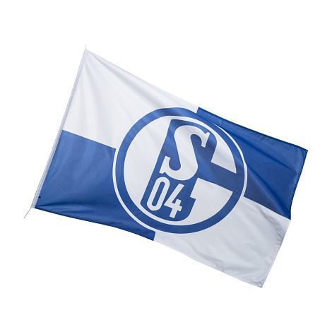 FC Schalke 04 Hissfahne Karo 150 x 250 cm