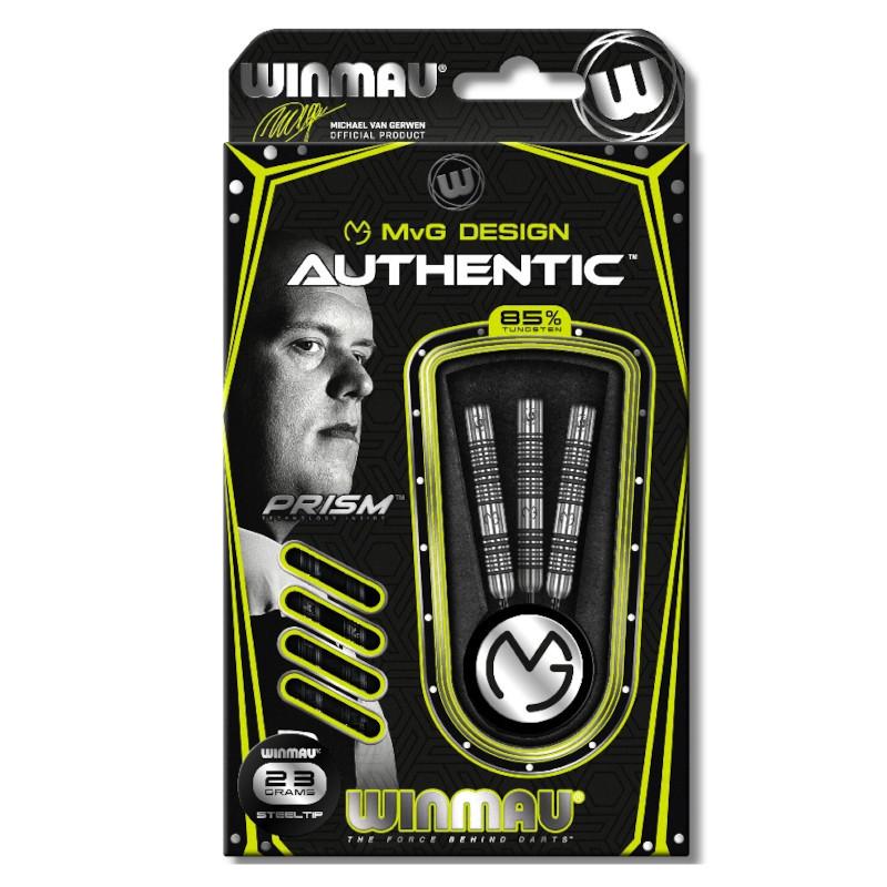Winmau Michael van Gerwen Authentic MvG Steeldarts-Set 23g