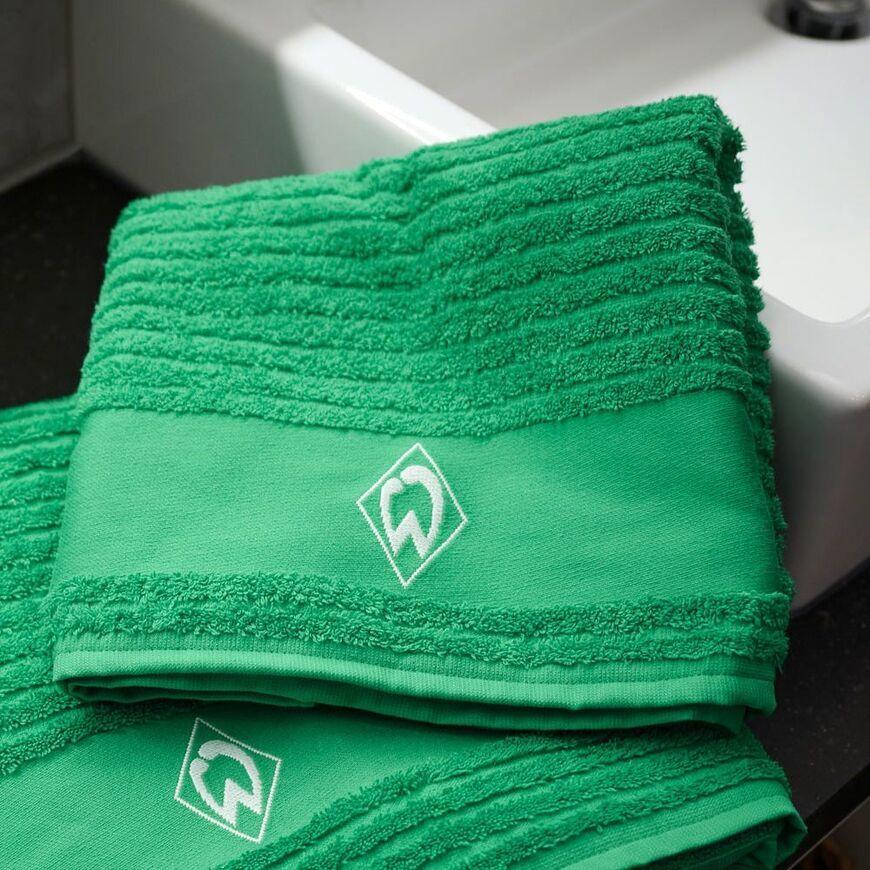 Werder Bremen Handtuch Raute