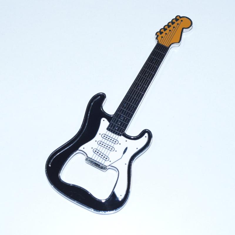 Flaschenöffner - Gitarre Classic schwarz