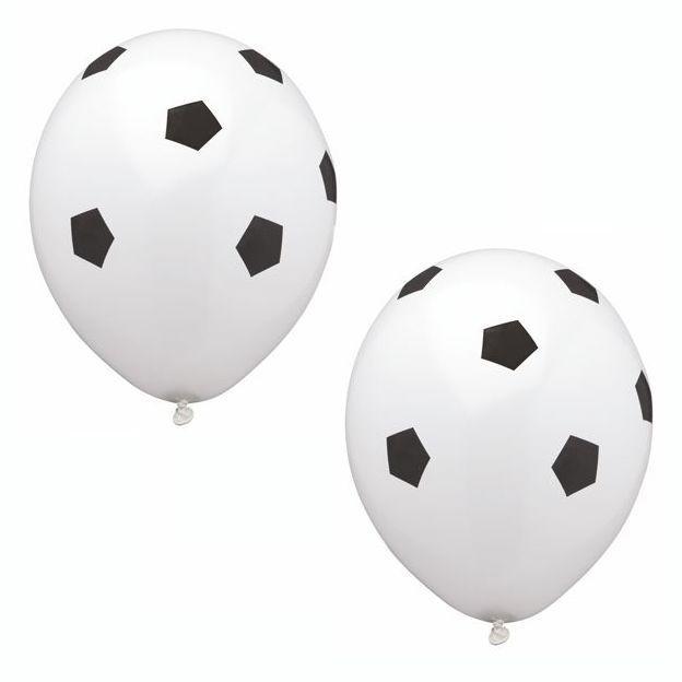 Luftballons mit Motiv Fussball