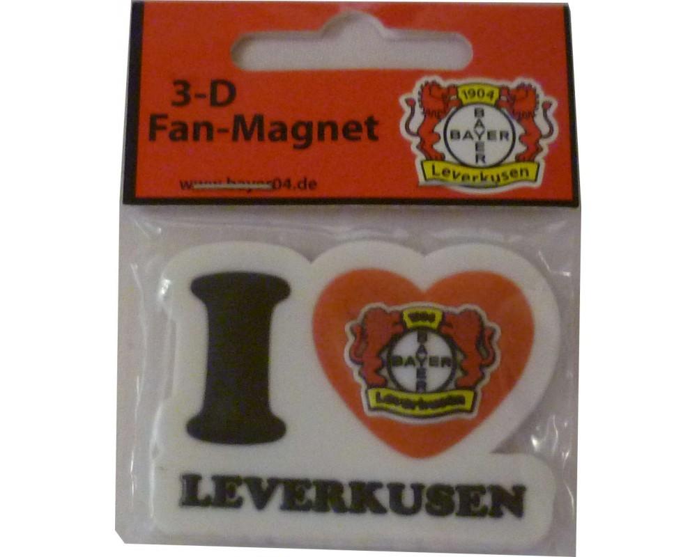 Bayer 04 Leverkusen Magnet I Love