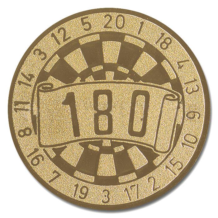 Emblem 180 gold für Medaillen-Träger