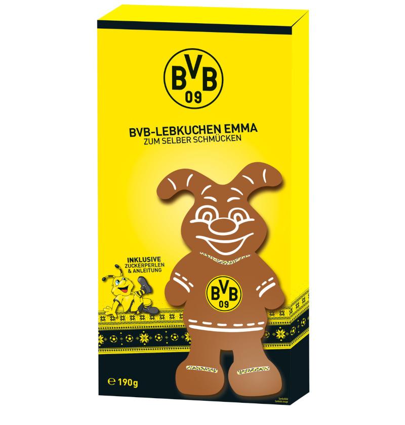 Borussia Dortmund Lebkuchenfigur Emma 190g