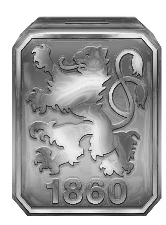 TSV 1860 München Spardose Logo