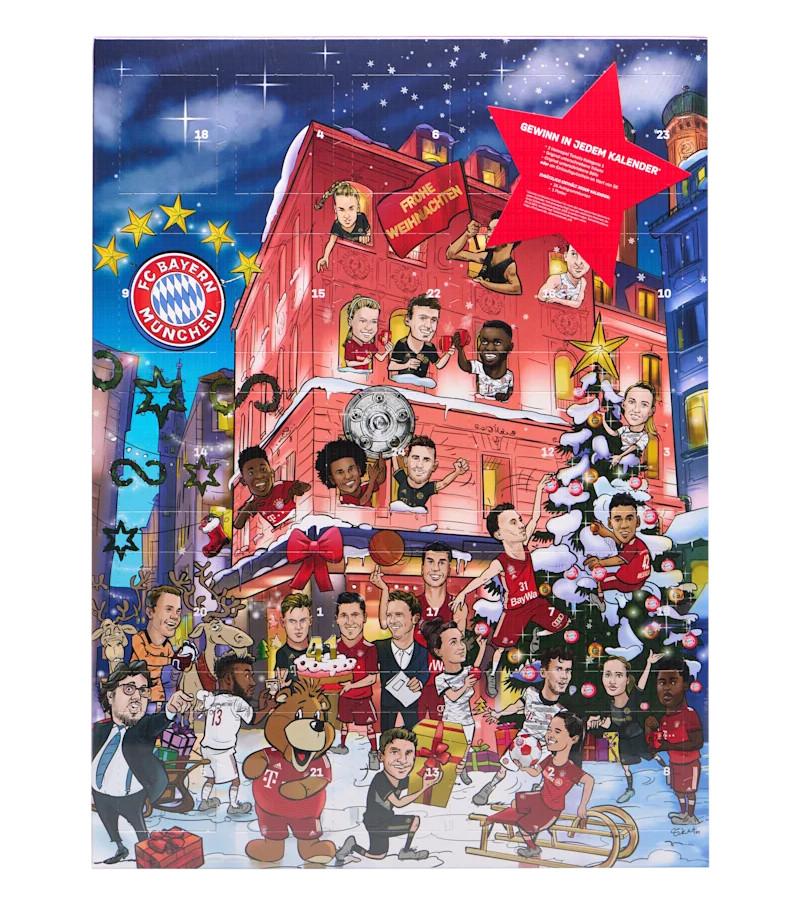 FC Bayern München Schoko Adventskalender