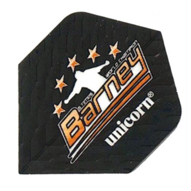 Unicorn Barneveld Flights Black Q Metallic Standard
