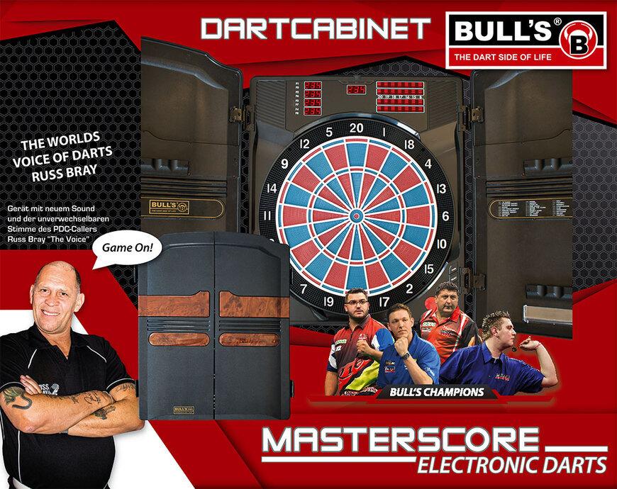Bulls Dartcabinet Masterscore RB Electronic Dart