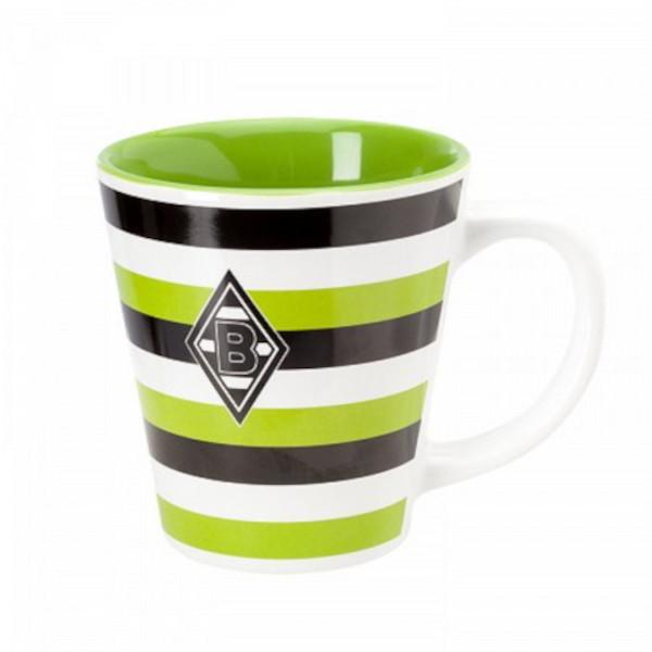 Borussia Mönchengladbach Tasse Streifen