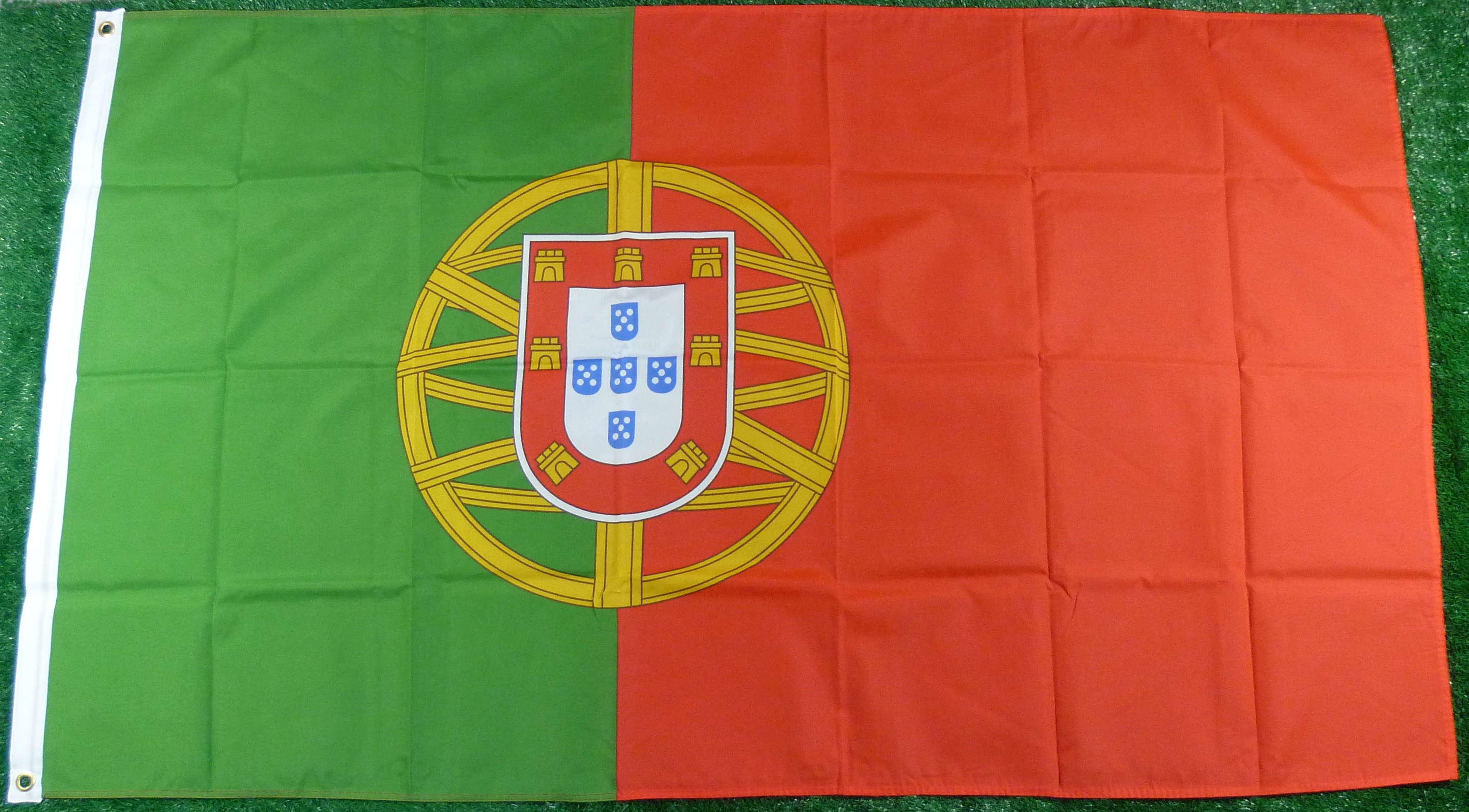 Portugal Mastfahne 90 x 150 cm