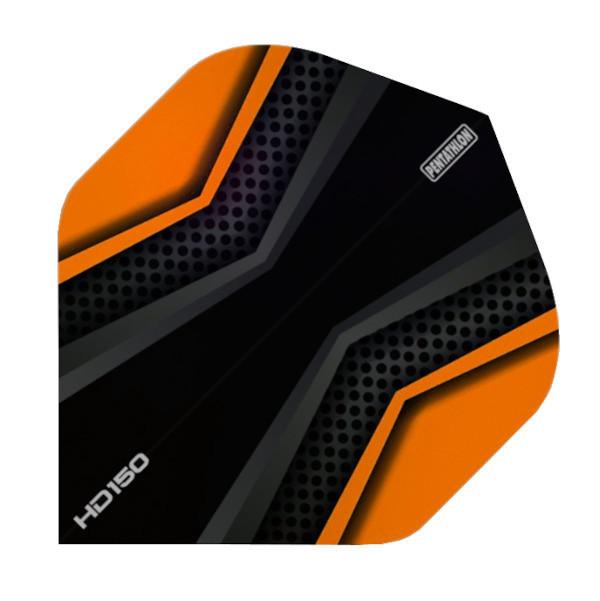 Pentathlon Flights HD150 X schwarz-orange Standard