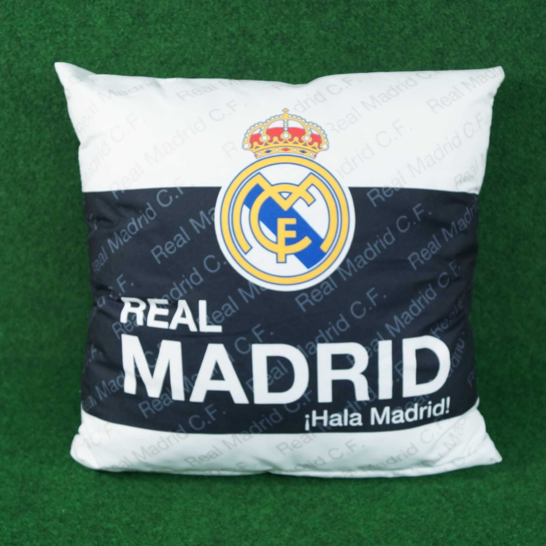 Real Madrid Kissen schwarz