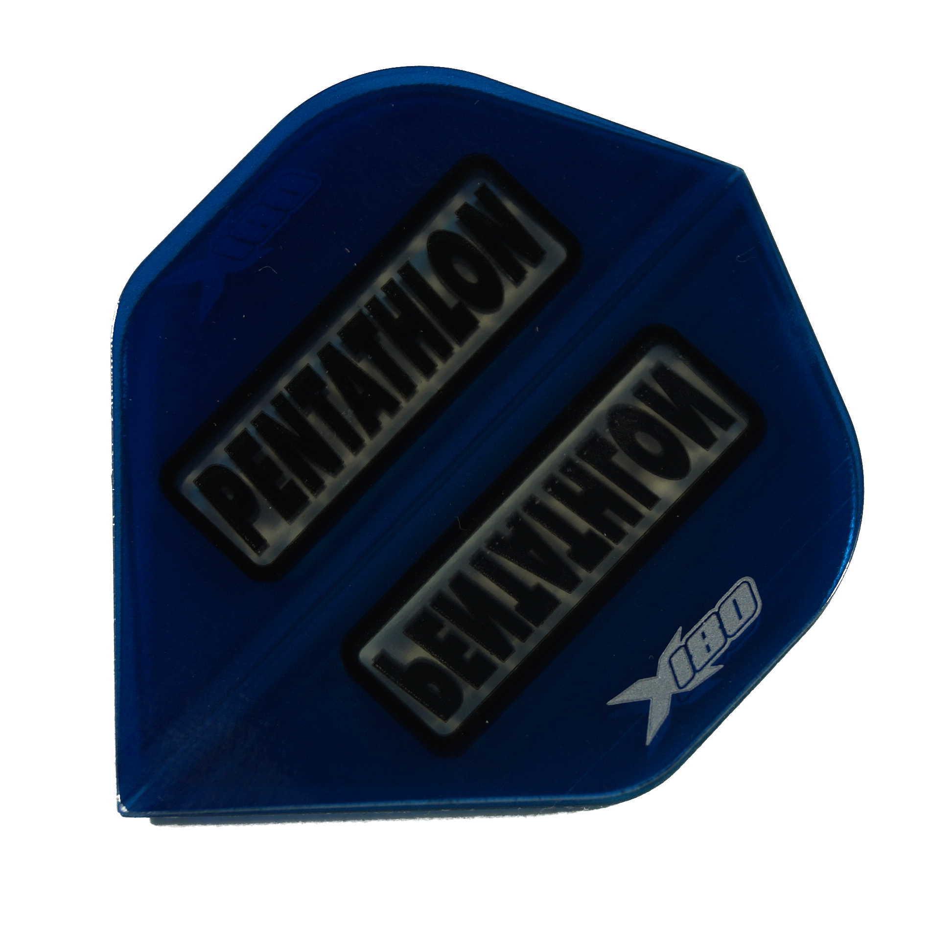 Pentathlon Flights X180 blau-transp. Standard