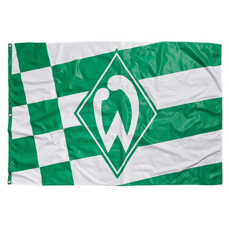 Werder Bremen Hissfahne 120 x 180 cm