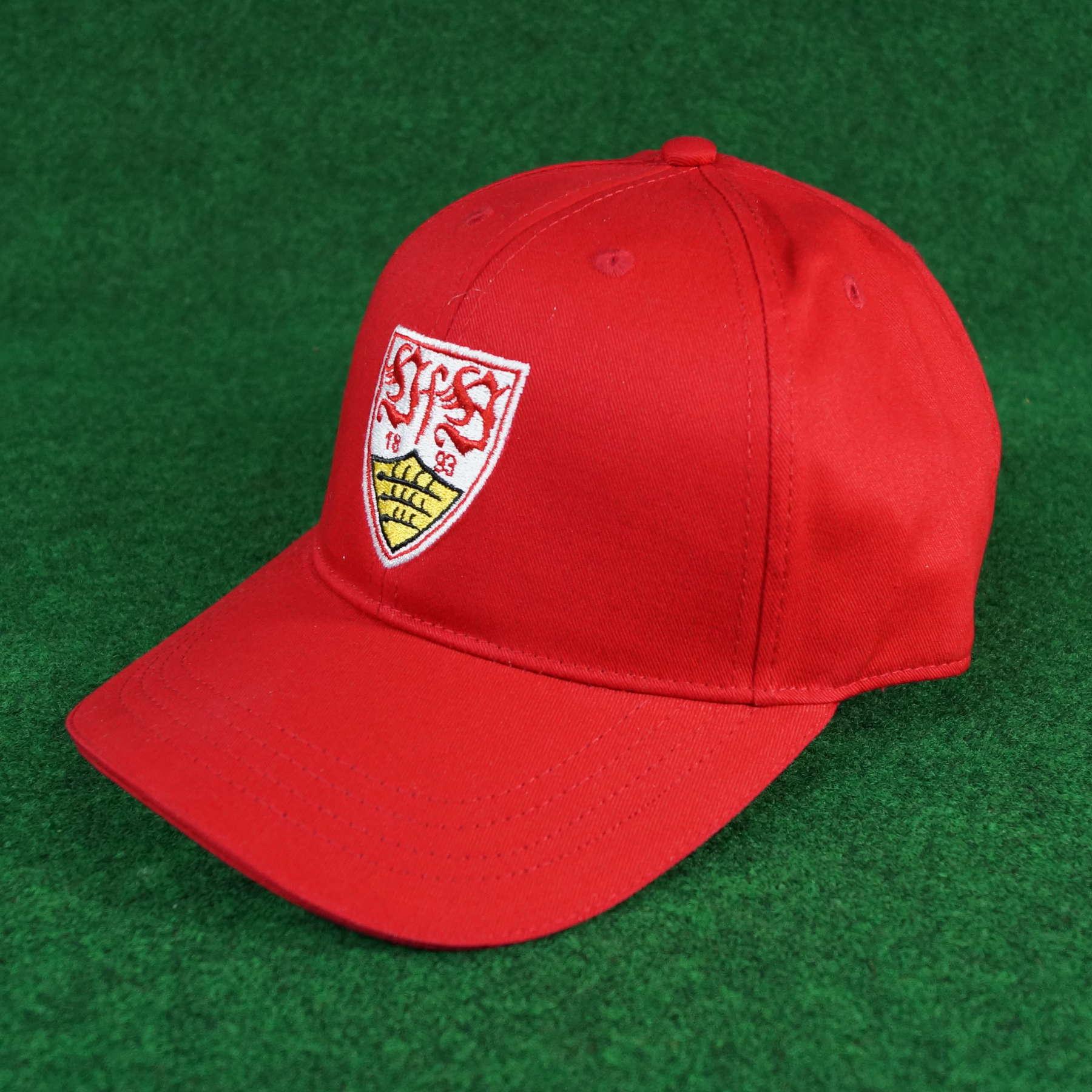 VfB Stuttgart Cap Wappen rot