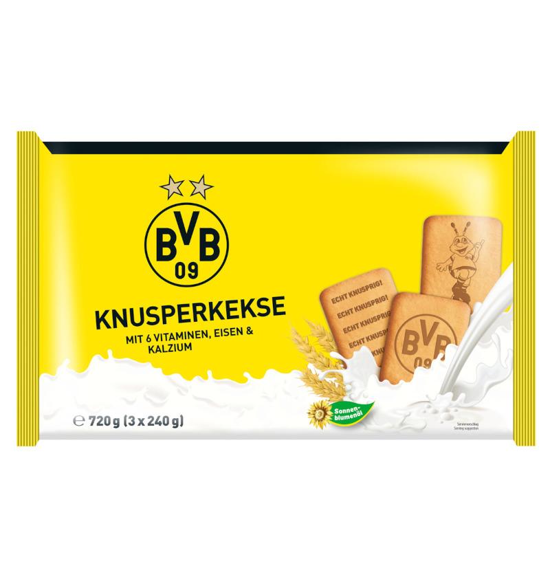 Borussia Dortmund Knusperkekse (3x240g)