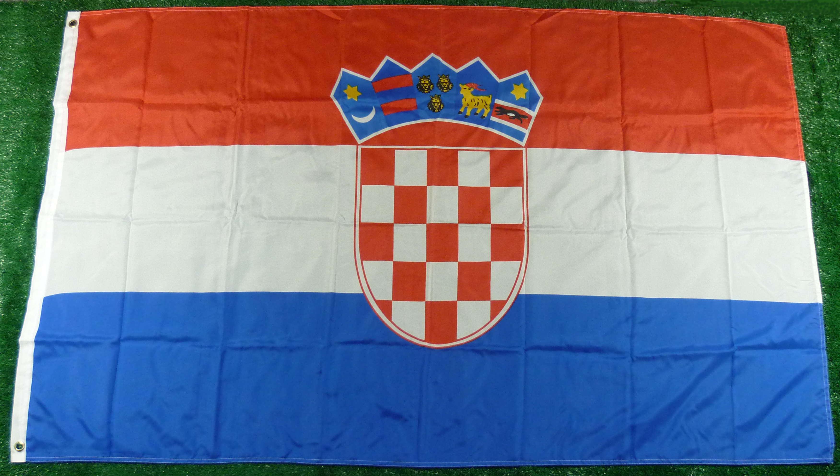 Kroatien Mastfahne 90 x 150 cm