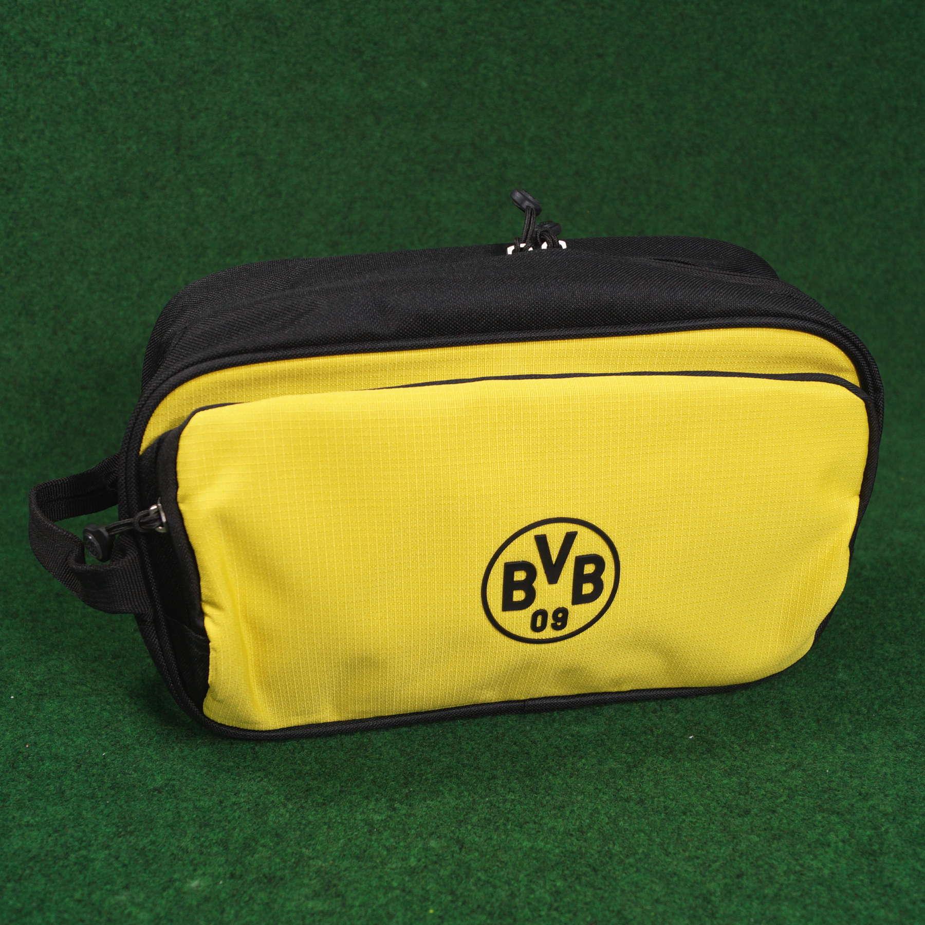 Borussia Dortmund Kulturbeutel schwarzgelb