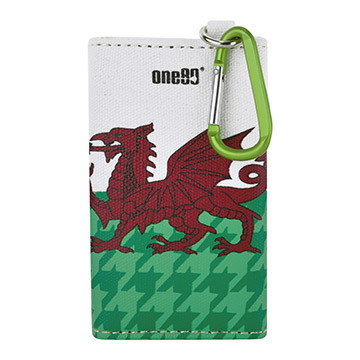 One80 Dart Canvas wallet Wales
