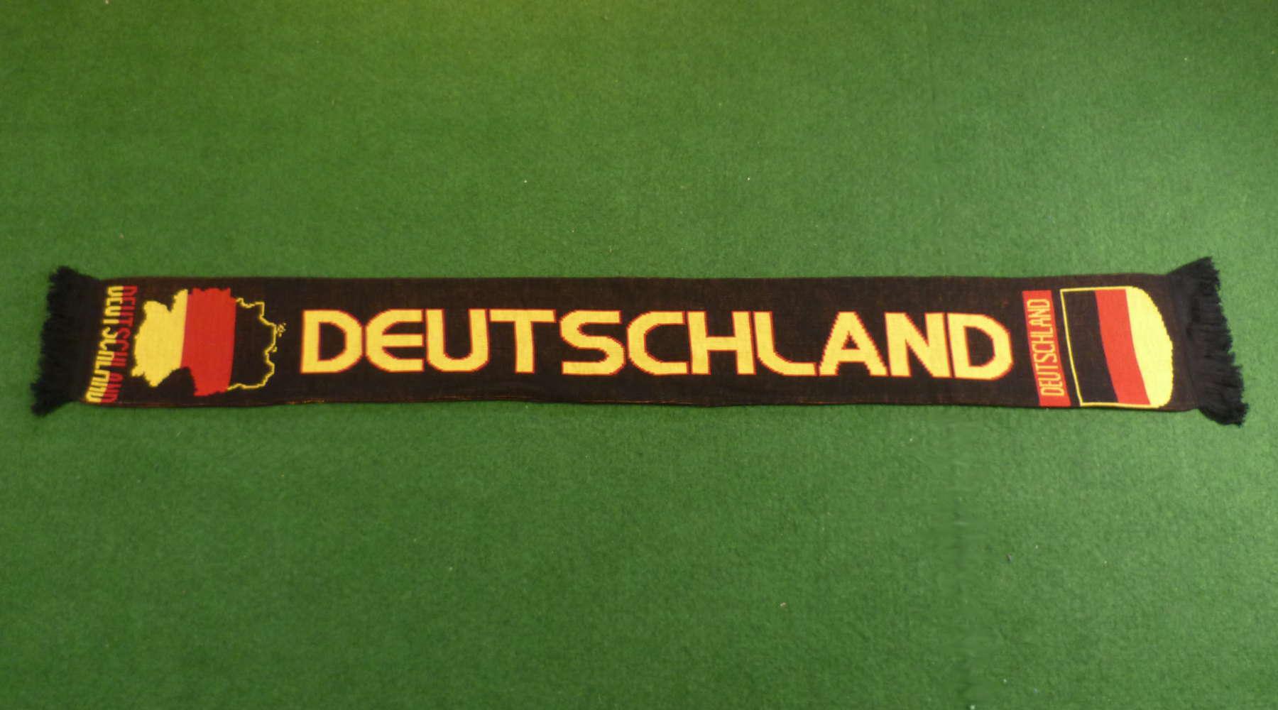 Deutschland Fan-Schal schwarz