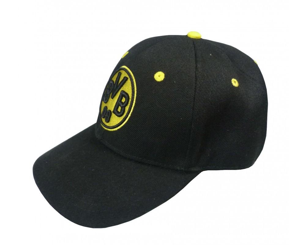 BVB Baseballcap Logo schwarz
