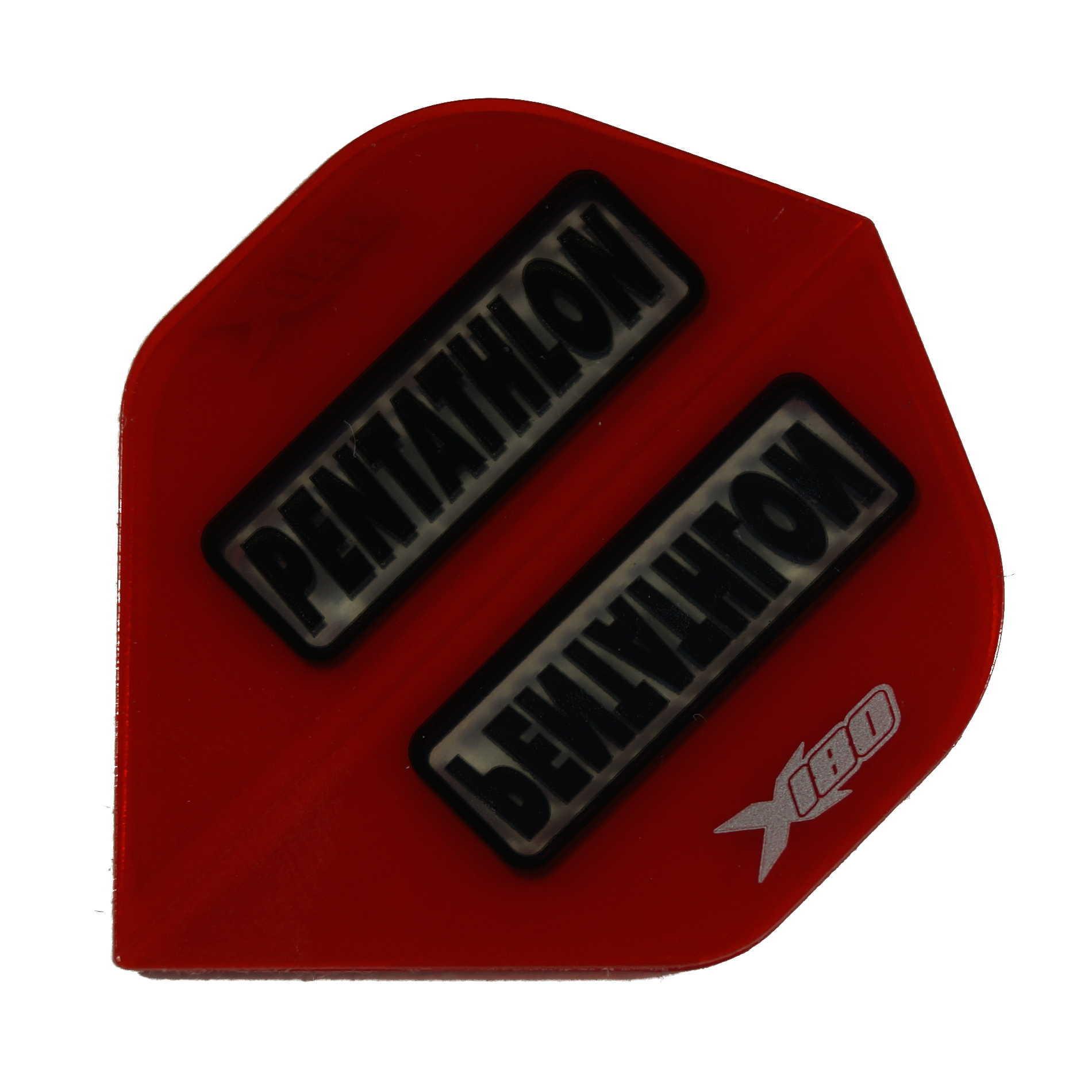 Pentathlon Flights X180 rot-transp. Standard