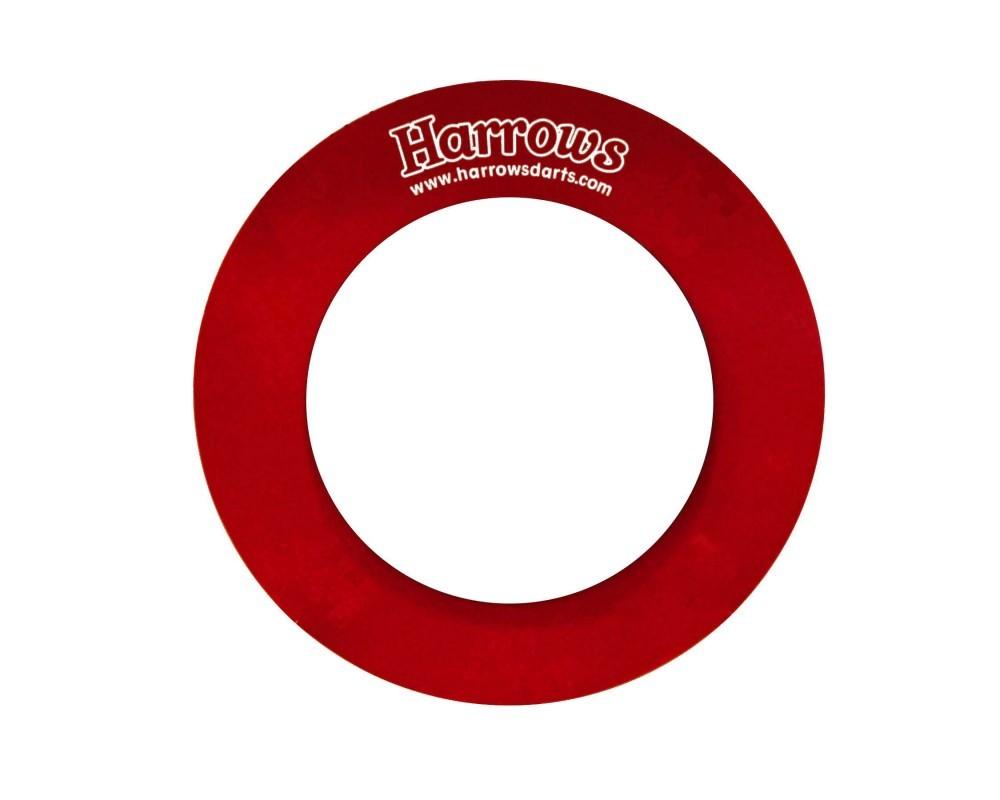 Harrows Dart-Board Wandschutz rot