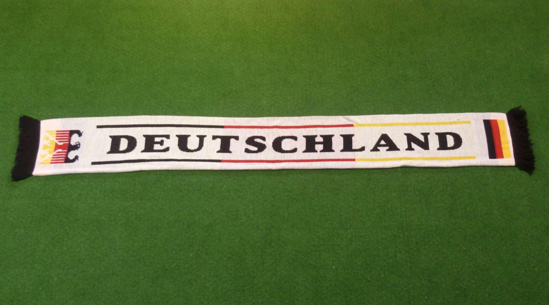 Deutschland Fan-Schal weiss